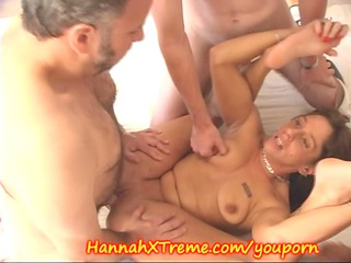 milf and the cumshots swallowing gang bang