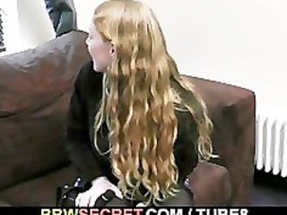 his woman leaves and he bangs blond fatty