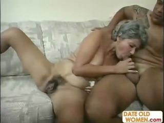 naughty hairy granny slut