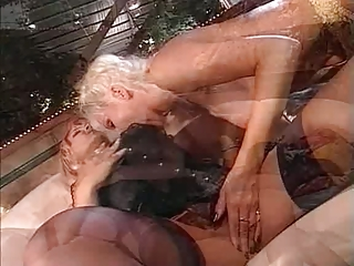 two cougar moms and plastic cock