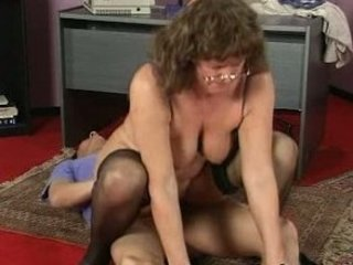 workplace fellatio mature babe