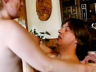 naughty older milf with huge breast drilling part6