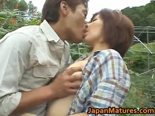 chisato shouda eastern elderly chick gets