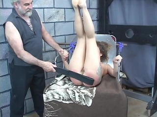 uneasy flogging for awesome inexperienced black