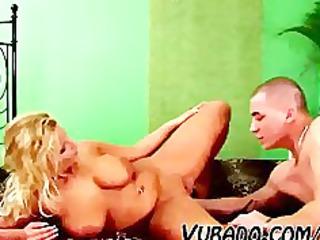 mature woman bangs him