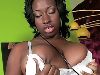 naughty black lady vixen pleases into her quarters
