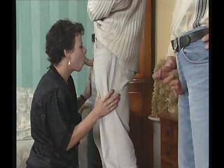 horny mature slut seduces fresh man that likes