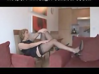 granny fully fashioned nylons and underwear go