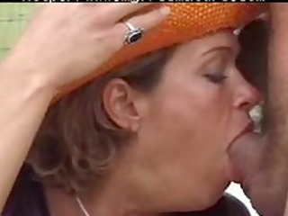 elderly karina with two dudes older grown-up fuck