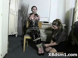 horny angel bdsm roleplay and spanking