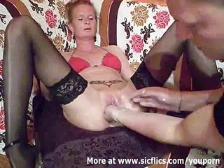 fist gang-banging the wifes big prostitute till