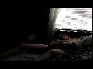 fresh woman pushing dildo caught on hidden cam