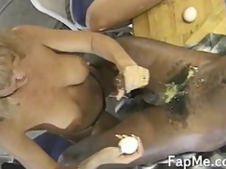super mature lady gives head to two desperate guys