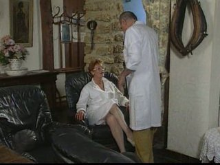 older french nurse gang-banged by two men