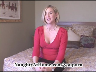 mature lady acquires cumshots