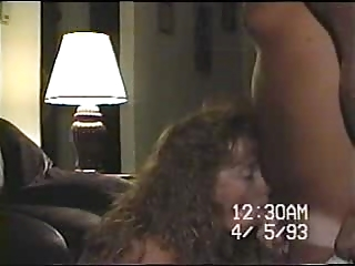 housewife takes huge load to face