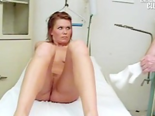 janelle fresh woman having her gap gyno speculum