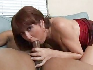 super grownup redhaired desi foxx obtains on bbc