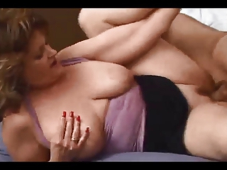 young grown-up babe gets vagina and arse