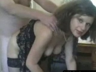 lady wife gives a great blowjob