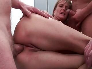 butt fucked mature amp gets five stiff libidos