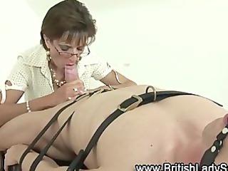 older lady sonia inside stockings