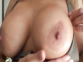 sweet anal milf in lingerie with extremely huge