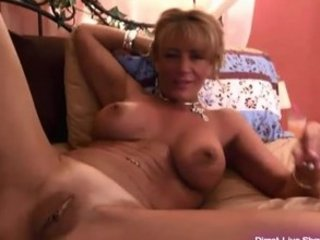 hot redhead mature babe masturbates for the gold
