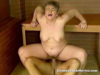dirty granny public pounding