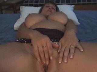 huge boob lady on holidays