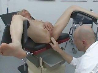bottom pierced elderly