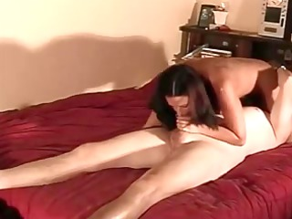 dilettante curvy maiden creampied on natural
