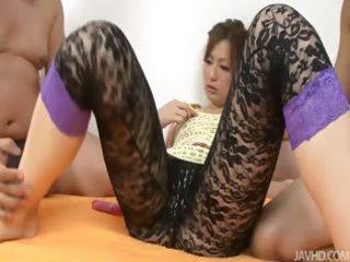 japanese bitch yukina momose pierced by two
