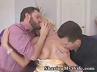 enormously impressive housewife controls her sex