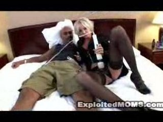 blonde older vs bbc