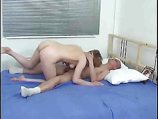 mom and guy on the bed s88