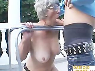 freak of nature very elderly chick
