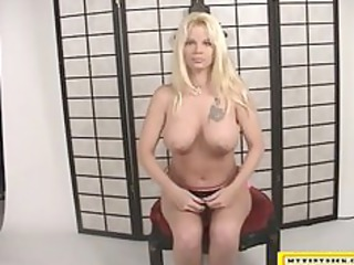 desperate woman pushing sex toy for money