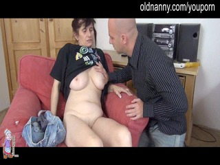 granny cougar and chick blow penis