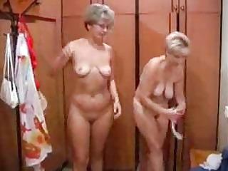 mature russian fuck inside a bathhouse
