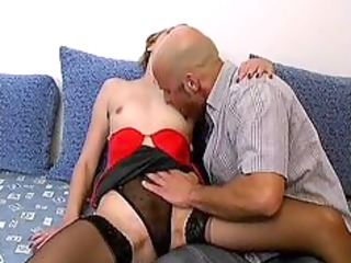 desperate grownup lady in pantyhose likes part1