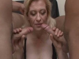 kinky grown-up pale in wild groupsex!
