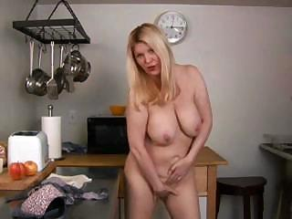 grown-up blonde whips up thing other inside the