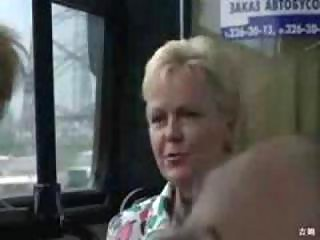 outdoor indecency on the bus those busty pair