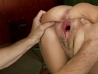 awesome granny enjyos tight gang-banging