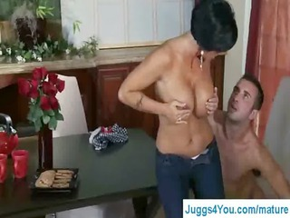 18big boobs cougar babe in unmerciful girl