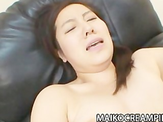 grown-up japanese mikako imada obtaining her cave