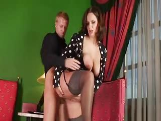 salesman cums twin with sexy lady