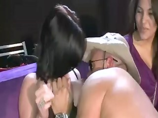 mature chicks and nubiles worshiping strippers