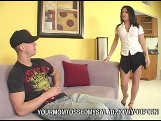 cougar chick licking studs idiot